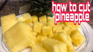 How to cut pineąpples | Easy and simple