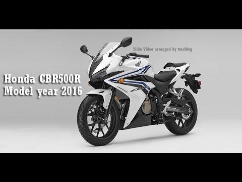 New Honda CBR500R Model Year 2016