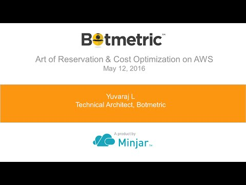 Art of Reservation & Cost optimization on AWS