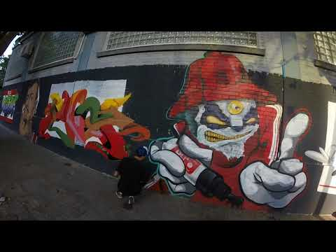 "seg rec graffiti uruguay ""hello my name is"" REC + muecke32(alemania)"