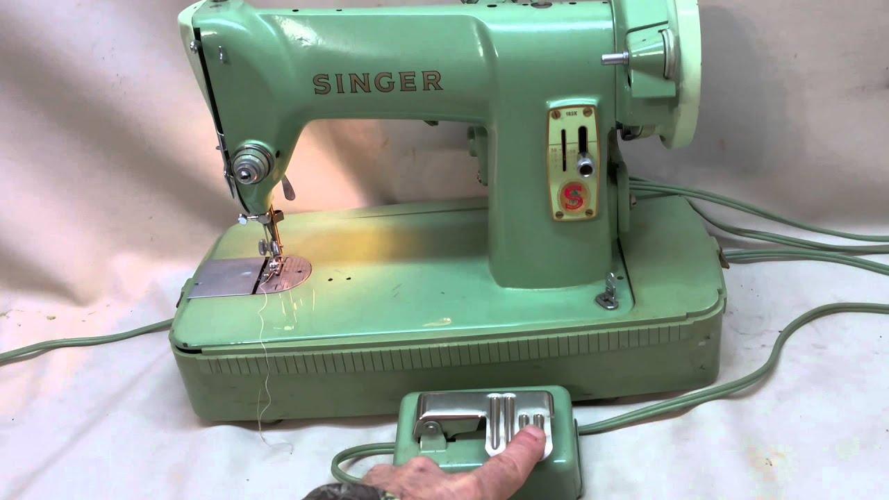 Singer 185 Sewing Machine Threading Diagram Wiring Diagrams Img Vintage Guides Stitch Nerd 185k Youtube Self