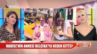 Hadise'nin annesi Belçika'ya geri döndü Video