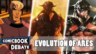 Evolution Of Ares In Cartoons Movies Andamp Tv In 5 Minutes 2019