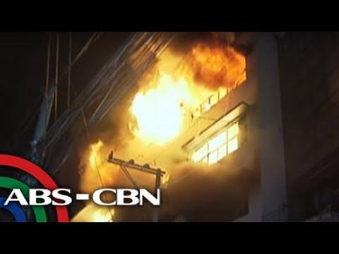 UKG: Gusali, mahigit 10 oras nang nasusunog sa Pasig City