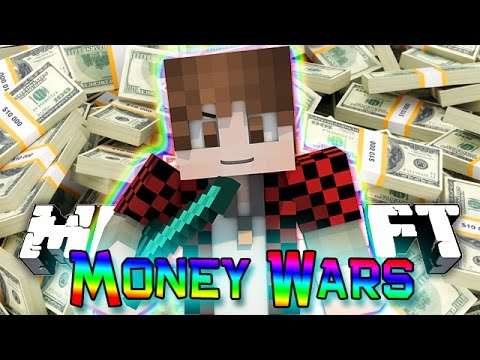 Minecraft: MONEY WARS GAME #8 - RUSHING MID FOR ALL THE DIAMONDS (Epic Mini-Game)