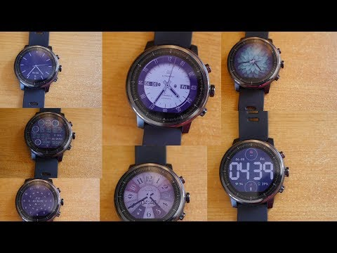 Top 10 Watch Faces for Amazfit Stratos &
