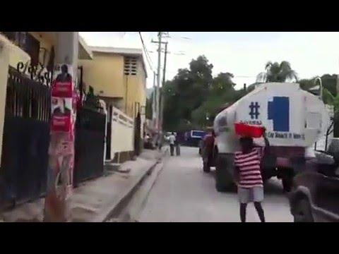 Motorcycle Ride - Port-au-Prince, Haiti