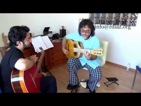 Berklee College Student Kris Sebastian (a lesson about the Spanish Cadence) Malaga CFG