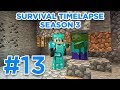 Mini Zombie Farm! | Minecraft Survival Timelapse Season 3 Episode 13 | GD Venus |