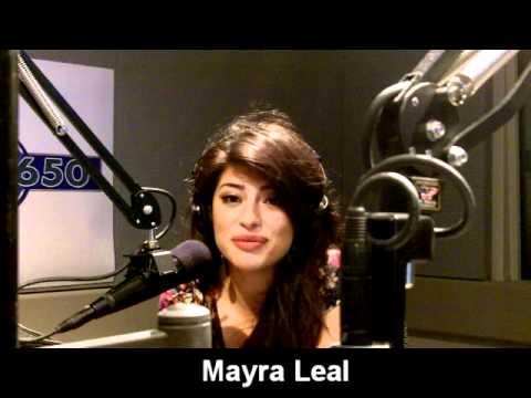 Talk650 Morning  with Machete girl Mayra Leal 09242010