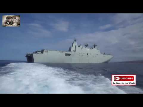 HMAS Canberra (L02) Ship-To Shore Offload / RIMPAC 2016