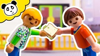Playmobil Schule - Streit um Pausenbrot - Playmobil Film