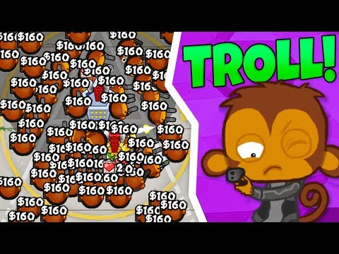 Bloons TD Battles | TROLLING in Bloons?!