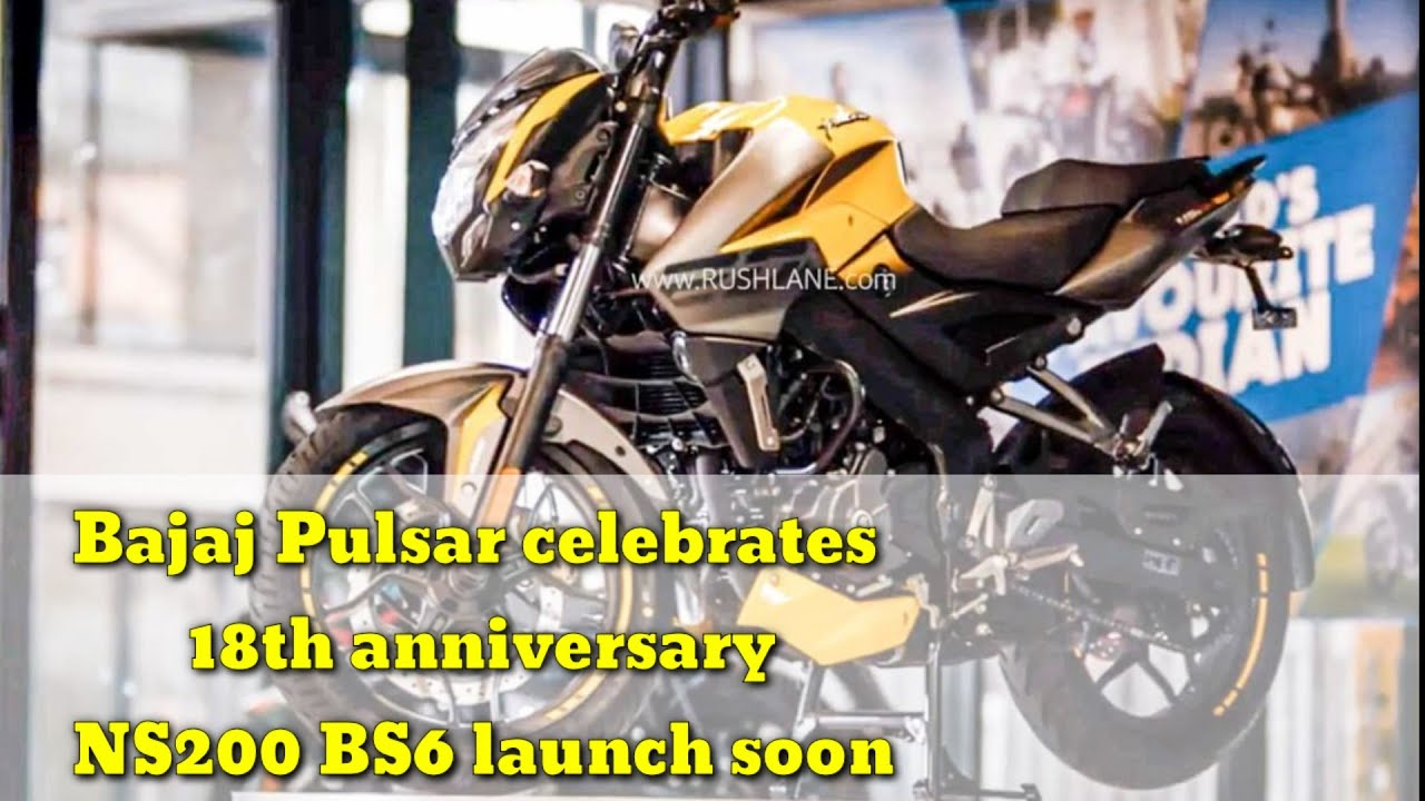 Bajaj Pulsar celebrates 18th anniversary video - NS200 BS6