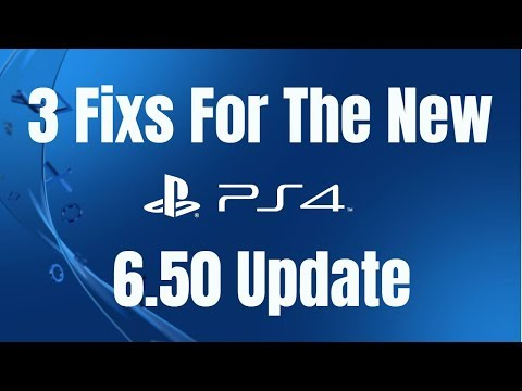 Repeat PS4 New Update Not Working 3 Fixes (update 6 50) by