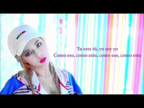 Roll Deep - Hyuna (Sub. español)
