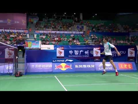 Video Tứ kết giải cầu lông Vô Địch Thế Giới 2013  Nguyễn Tiến Minh vs Jan O Jorgensen