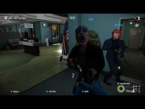 Payday 2 Bank Job my sons i3 4360 and Gtx 970