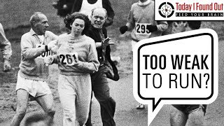 The First Woman to Officially Run the Boston Marathon