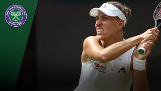 Daria Kasatkina vs Angelique Kerber QF Highlights | Wimbledon 2018