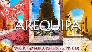 AREQUIPA | La CIUDAD BLANCA MÁS HERMOSA del PERÚ (TODO lo que DEBES SABER, HACER y CONOCER)