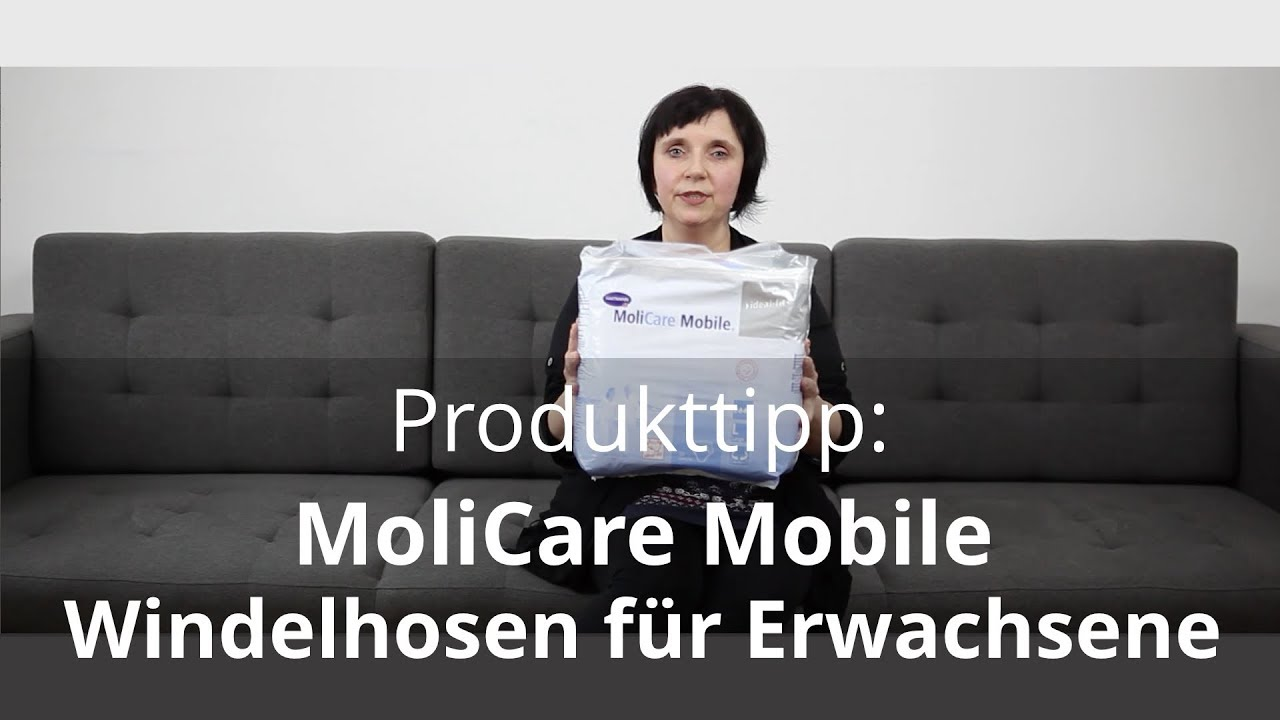 windelhosen f r erwachsene produkttipp 1 molicare mobile youtube. Black Bedroom Furniture Sets. Home Design Ideas