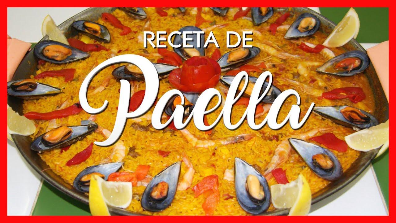 ✅ Paella ✅ Receta de Paella ✅ Como hacer una Paella