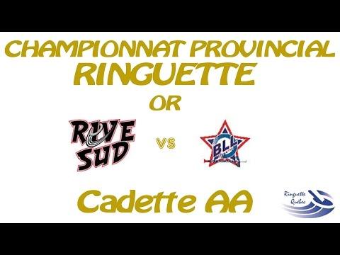 Championnat Provincial Ringuette Québec 2015