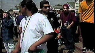 OLD SKOOL DITCH PARTIES L.A. SCENE 1993 NEWS COVERAGE