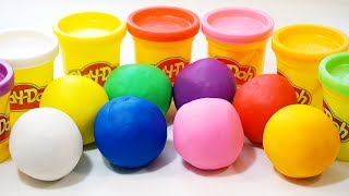 Learn Colours with Play Doh for Kids