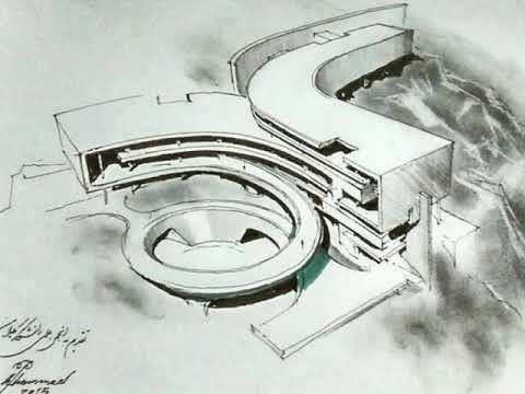 Ký họa thiết kế của kiến trúc sư