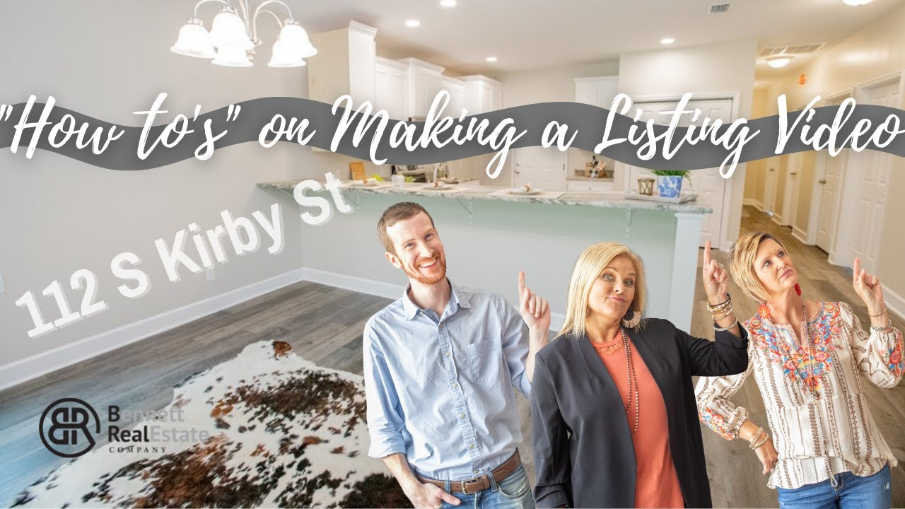 """Showing Danny the """"How to's"""" on making one of our Listing Videos! 112 Kirby St"""