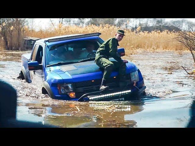 ТРАГИЧНЫЙ КОНЕЦ. Поспорили УАЗЫ против TOYOTA LC 80 , FORD RAPTOR и DODGE RAM