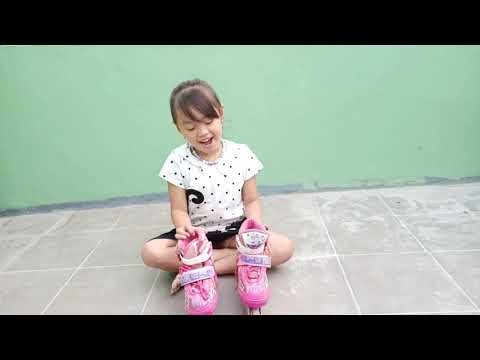 Video Cara Bermain Sepatu Roda Untuk Anak