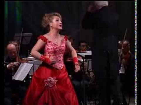 Анна Архипова - Ария Виолетты из оперы