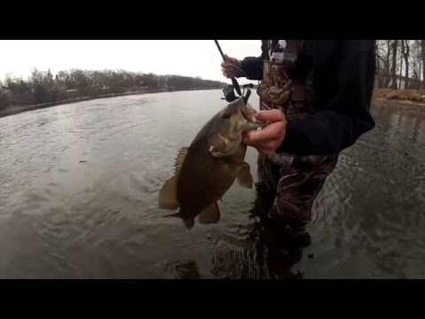Mid-Winter Upper Mississippi River Smallmouth