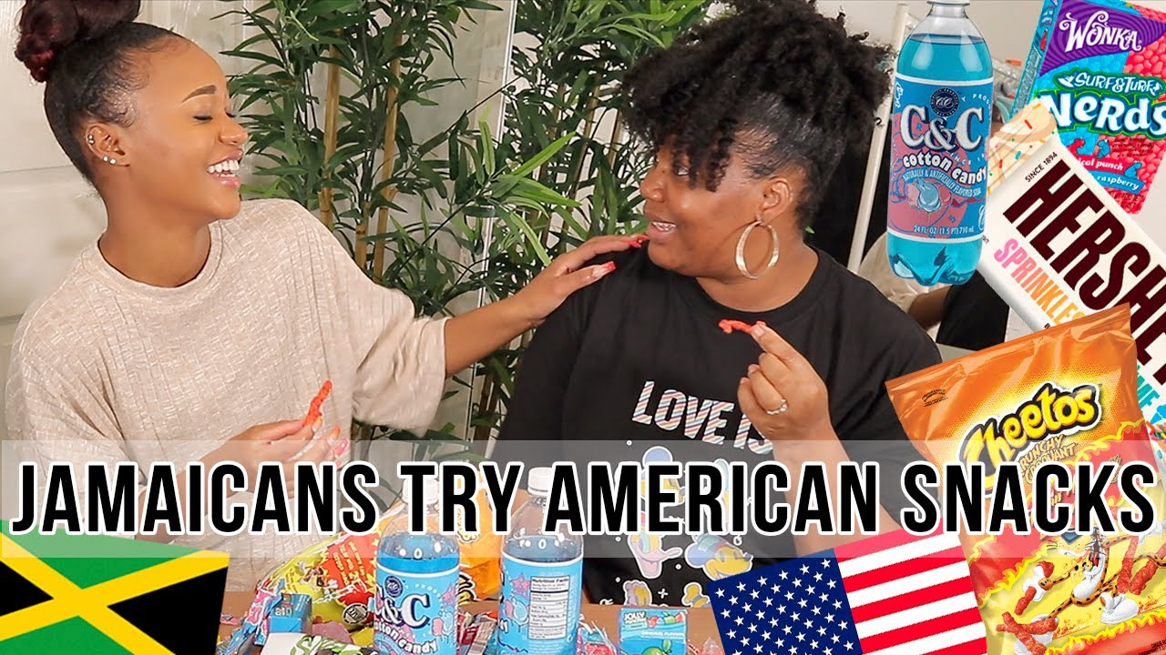 JAMAICANS TRY AMERICAN CANDY FOR THE FIRST TIME! ♡ @Tashika Bailey