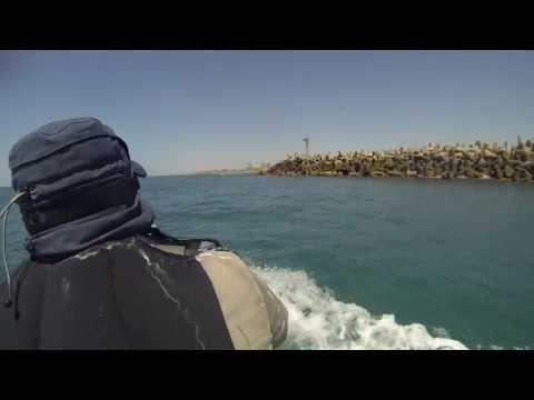 צלילה לאורך השובר במרינה הרצליה חלק ראשון באיכות HD