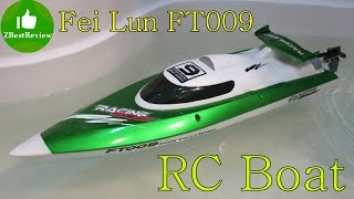 ✔ Fei Lun FT009 - моя перша РУ човен! FT009 RC Boat Gearbest