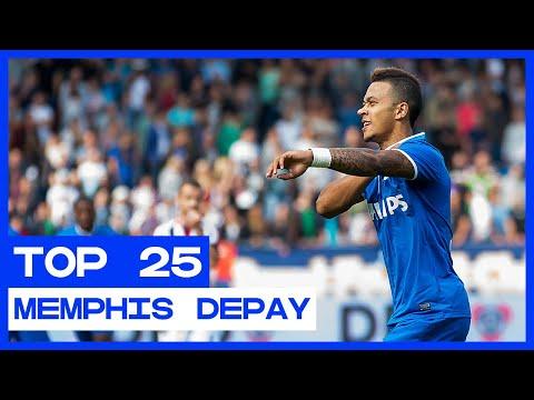TOP 25 | De Mooiste Eredivisie-goals Van Memphis Depay