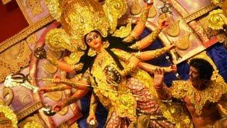 Subo Mahalaya Durga Mata with passion in puja at Kolkata