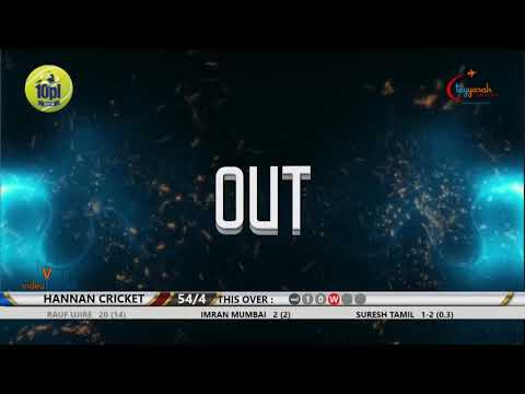 Suresh tamil bowling against raigad (hannan )  10pl  2018