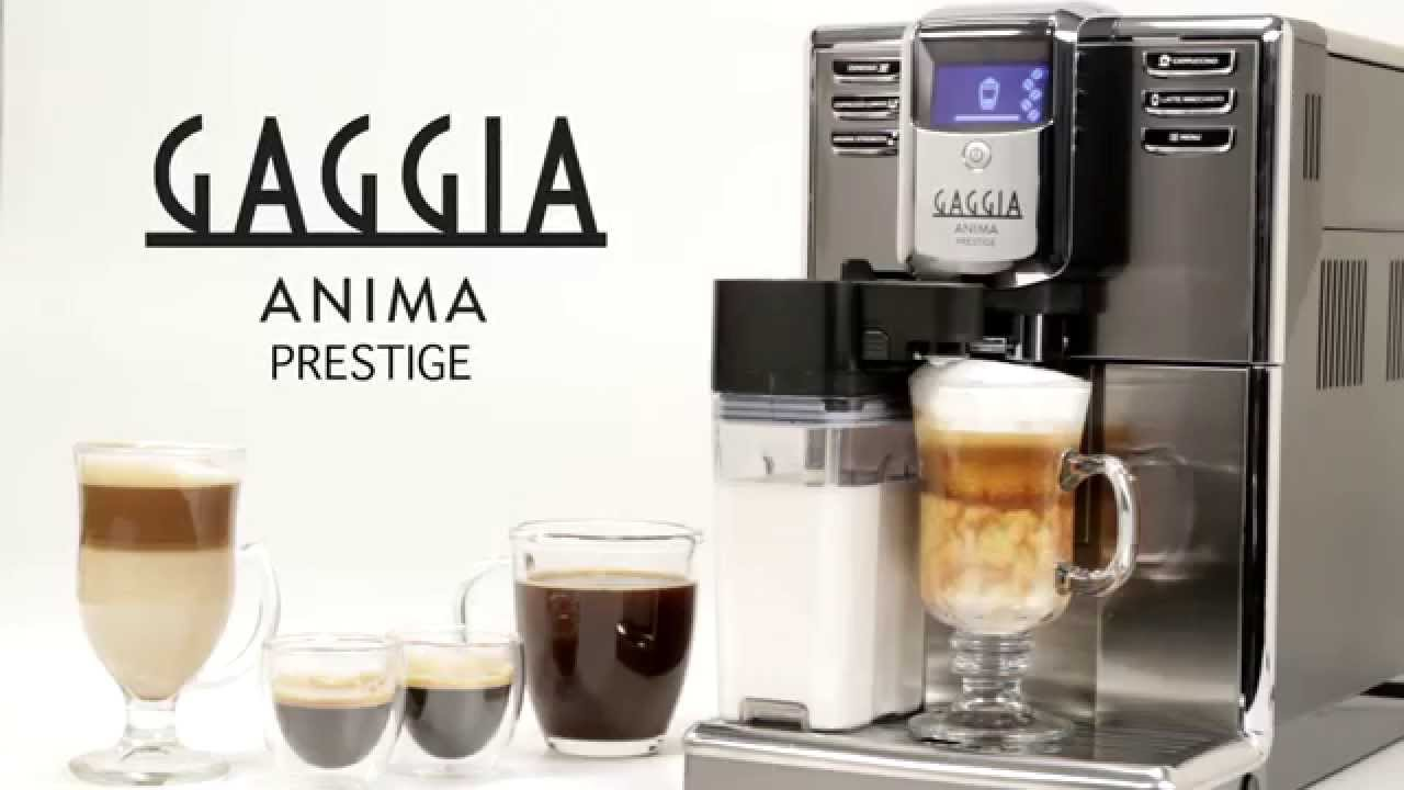 b29d82f2e Gaggia Anima Prestige Super-Automatic Espresso Machine - YouTube