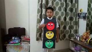 Traffic Light for Kids Fancy Dress Competition