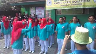 Yel-yel Keren 2B Milad Akper Yarsi Samarinda 2016