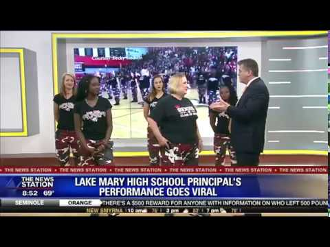 Lake Mary High School Principal's Performance Goes Viral