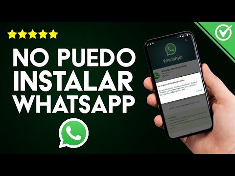 'WhatsApp Tiene un Problema y Necesita ser Instalado de Nuevo' No Puedo Instalar ni Abrir WhatsApp