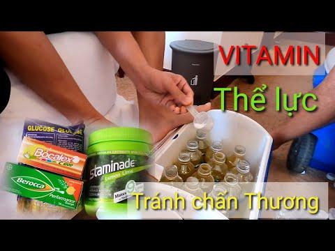 Cầu thủ uống gì trong tập luyện và thi đấu  Giúp tăng cường sức khỏe Mạnh Trần TV_SL