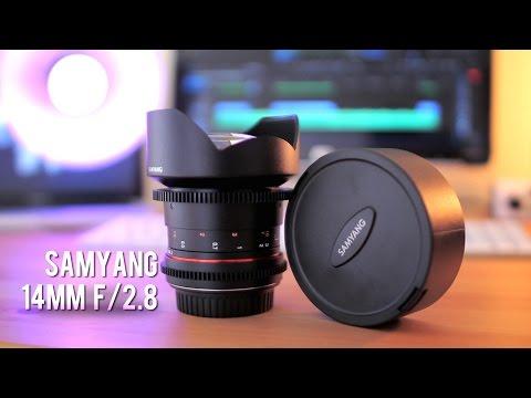 Samyang 14mm F2 8 Cine Lens Review! (T3 1) - YouTube