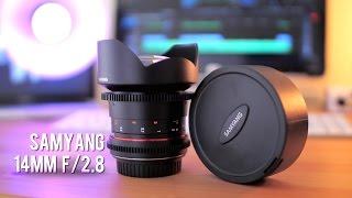 Samyang 14mm F2.8 Cine Lens Review! (T3.1)